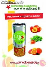 Pure bio energy drink