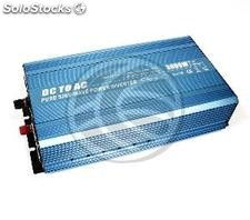 Pure sine wave power inverter 20 ~ 31VDC to 220VAC 3000W Solar usb (IV37)