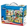 Puzzle 4 en 1 Mickey Mouse 16220 PPT02-16220