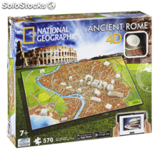 Puzzle 4D national geographic antigua roma