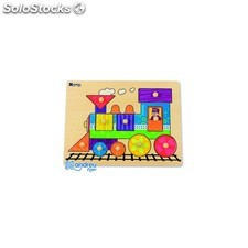 Puzzle andreutoys madera tren