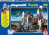 Puzzle. PS56090. Fight for the royal treasure + Playmobil. 150 pcs