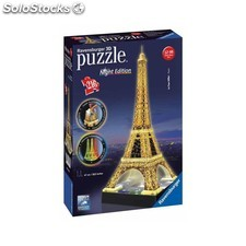Puzzle Torre Eiffel 3D Night Edition