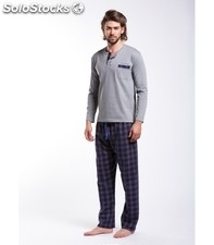 Pyjama Checked Blue/Red