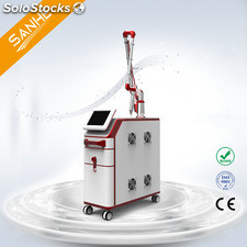 Q switch nd yag laser doble pulso para medicos