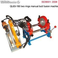 Ql63-160 manual hdpe butt fusion welding machine