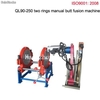 Ql90-250 two rings manual hdpe butt fusion welding machine