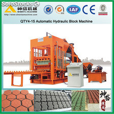 QTY8-15 concrete block making machine