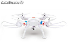 Quad-Copter SYMA X8C 2.4G 4-Channel with Gyro + Camera (White)