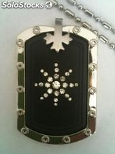 Quantum Scalar Energy Rectangle Pendant Crystals Chain