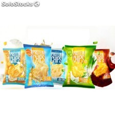 Quest protein chips - sea salt (8 bags)