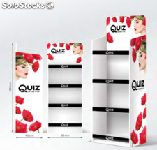 Quiz Cosmetics espositore