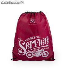R11018 sac moto marques route 66 Rouge