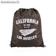 R11019 torba sport california znaki route 66 Brown