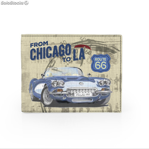 R12001 portefeuille chicago marques route 66 Unique