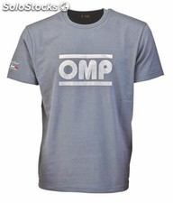 Racing spirit camiseta omp grey talla s