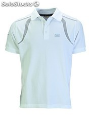 Racing spirit polo blanco talla m
