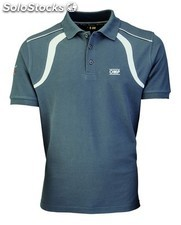 Racing spirit polo grey talla l