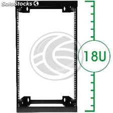 "Rack 19"" mural SOHORack 18U Open (WN25)"