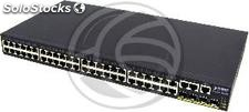 "Rack 19"" Web Giga Switch 48 10/100/1000 Mbps utp and 4 sfp (RH78)"