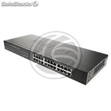 "Rack de 19"" Giga Switch 24 portas 10/100/1000 Mbps UTP (RH74)"