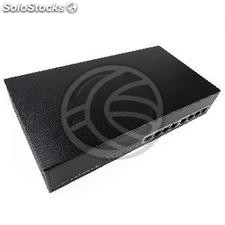 "Rack de 19"" Giga Switch 8 portas 10/100/1000 Mbps UTP (RH72-0001)"