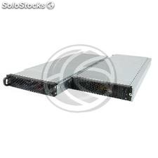 Rack19 atx 1U F545 4x3.5 2 Atom Mini-itx removable from RackMatic (CK81)