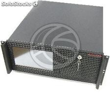 Rack19 Box 4U ipc atx 1x5.25 4x3.5 lcd F500mm Rackmatic (CK38)