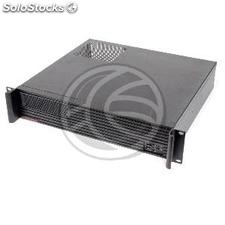 Rack19 Box ipc 2U atx 1x5.25 5x3.5 F400mm RackMatic (CK131)