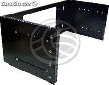 "Rackmatic Rack 19"" Wall Extensible Fund (4U) (RR43)"