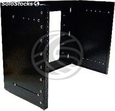 """Rackmatic Rack 19\"""" Wall Extensible Fund (8U) (RR44)"""