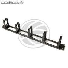 Rackmatic single 1U Panel fairlead (RR15)