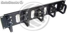 Rackmatic single 2U Panel fairlead (RR17)
