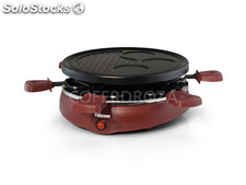 Raclette grill 6 personas tristar 25 cm ra-2991