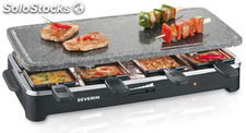 Raclette grill con piedra rg 2343