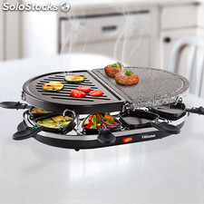 Raclette Grill y Piedra Tristar RA2946