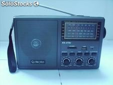 Radio am/fm/sw1/sw2 4 banda rs278u