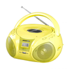 Radio CD brigmton w-408 v amarillo MP3 usb