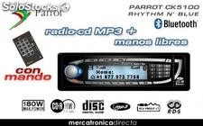 Radio-cd con Mp3 con manos libres Parrot Ck5100