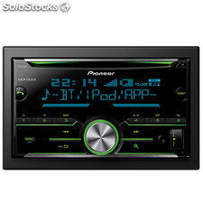 Radio CD doble din usb Pioneer FHX730BT