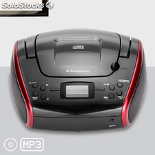 Radio CD MP3 Estéreo AudioSonic CD1597, con pantalla LED, lectura digital,
