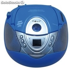 Radio CD MP3 nevir nvr-474U Azul