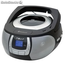 Radio CD MP3 portatil nevir nvr-