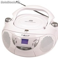 Radio CD MP3 portatil nevir nvr-475U
