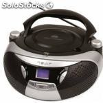 Radio CD MP3 portatil nevir nvr-475U plata