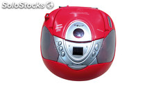 Radio CD nevir nvr-474 u Rojo
