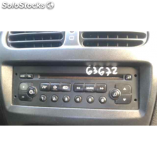Radio cd - peugeot 206 berlina xs - 06.98 - 12.07