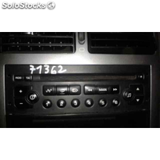 Radio cd - peugeot 307 break / sw (s1) break xs - 04.02 - 12.04