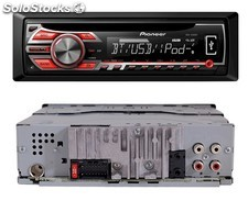 Radio CD Pioneer DEH-4500BT, Bluetooth, USB, control iPhone y Android