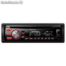 Radio CD Pioneer DEH-4700BT, Bluetooth, USB, control iPhone y Android